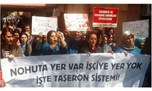 Taşeron yemekhane işçileri: Özel statü değil  kadro istiyoruz!