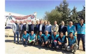 Emek ve meslek örgütlerinden Babacanlar Kargo işçilerine destek
