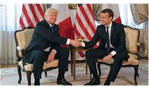 Macron: Trump, AB ülkelerini birbirine yakınlaştırdı