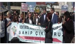 Bakırköy Ruh ve Sinir Hastalıkları Hastanesi için eylem yapıldı