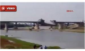 Irak Ordusu video paylaştı: Peşmerge köprüyü böyle uçurdu