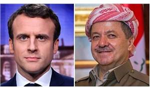 Macron ve Barzani telefonda görüştü