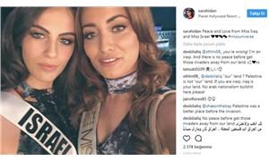Irak güzeli ile İsrail güzelinin birlikte fotoğrafı tartışma yarattı