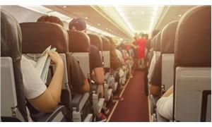 Uçakta diş protezini yutan adam hayatını kaybetti!