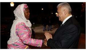 Başbakan Yıldırım Gambiya Cumhurbaşkanı Yardımcısını kabul etti