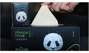 Panda dışkısı tuvalet kağıdı ve peçete oldu