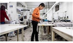 Mersin tekstil atölyelerinde  çocuk emeği sömürüsü