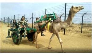 Hindistan ordusu Çin sınırında develerle devriyeye başlamayı planlıyor