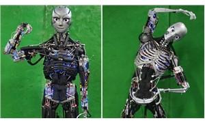 Terleyebilen robot geliştirildi