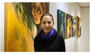 İlk sergisini açan Hümeyra: Dünyayı kadınlar kurtaracak