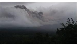 Mayon yanardağı lav püskürtmeye başladı