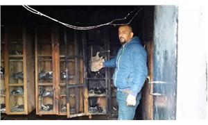 70 güvercini yakarak öldürdüler