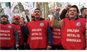 Greve hazırlanan 130 bin metal işçisine uluslararası destek