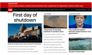 Dünya basınında ilk gündem: Afrin
