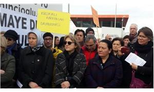 İmara açılan alanda protesto: Karayolları arazisi imara açılmasın, halka kalsın