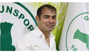 Giresunspor Teknik Direktörü Metin Diyadin istifa etti