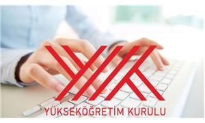 """YÖK """"online başvuru"""" hizmetini başlattı"""