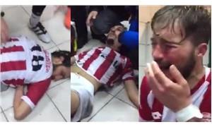 Amatör ligde skandal: Futbolcuları feci şekilde darp ettiler