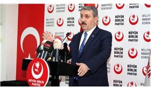 BBP Genel Başkanı Destici: İdam cezası getirilmeli
