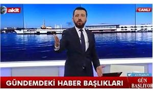 Skandal sözlerine soruşturma başlatılan Akit TV sunucusu istifa etti