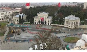 Beyazıt Meydan projesi durduruldu