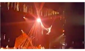 Cirque du Soleil gösterisi sırasında düşen dansçı yaşamını yitirdi