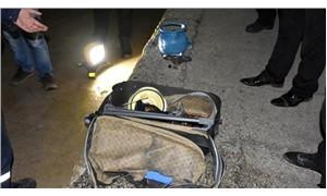 Trende unutulan valiz, fünye ile patlatıldı
