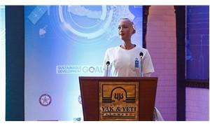 İnsansı robot Sophia, BM konferansında konuşma yaptı