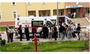 Yurttaki yemekten zehirlenen 69 öğrenci hastaneye kaldırıldı