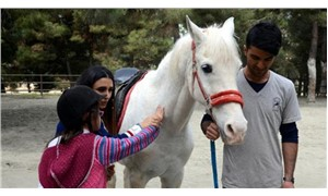 Down sendromlu öğrencilere atlı terapi
