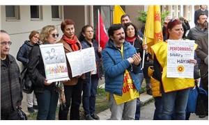 Öğretmenlerden kokartlı protesto