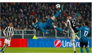 Ronaldo attığı golle sosyal medyayı salladı!