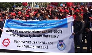 İşsiz bırakılan yüzlerce taşeron işçisinden eylem: Mücadeleden başka yol yok!