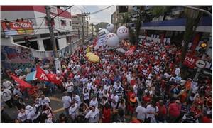 Lula direnişe geçti halk bu sloganı attı: Teslimiyet yok