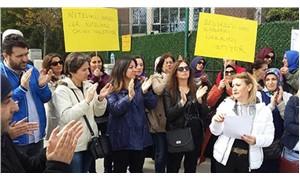 Hacı Sabancı Anadolu Lisesi velilerinden 'nitelikli okul' eylemi