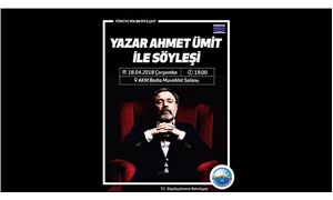 Yazar Ahmet Ümit, Büyükçekmeceli okurlarıyla buluşuyor