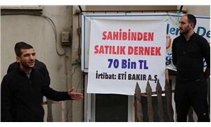 'Satılık pankart' eylemine ceza yok