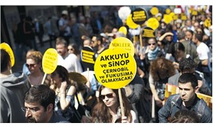Mitingi yasaklandı ama nükleer karşıtları engel tanımıyor