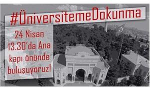 İstanbul Üniversitesi öğrencileri: Üniversiteme dokunma