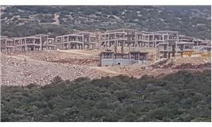 Sit alanında otel inşaatı yargıya taşındı