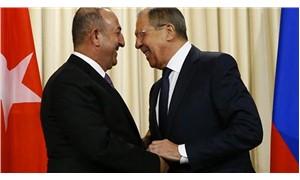 Çavuşoğlu, Rus mevkidaşı ile görüştü