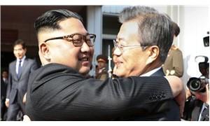 Kuzey ve Güney Kore liderleri sınırda yeniden buluştu