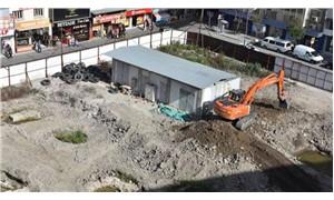 AVM inşaatından Roma dönemi kalıntıları çıktı