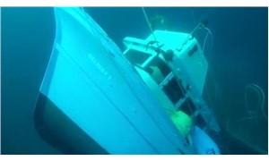 Ayvalık, batan teknede kaybolan 2 genç için seferber oldu