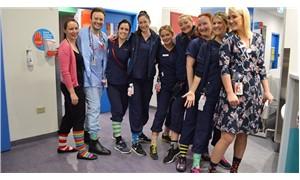 Hekimlerden çılgın çorap kampanyası