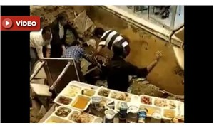 İftar sırasında restoranın zemini çöktü: 1 yaralı