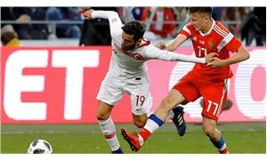 Rusya-Türkiye maçı 1-1 berabere bitti
