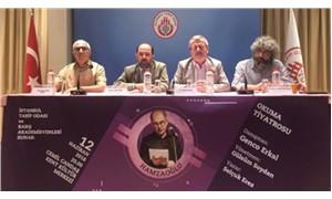 Hekimler ve akademisyenler Onur Hamzaoğlu için sahnede