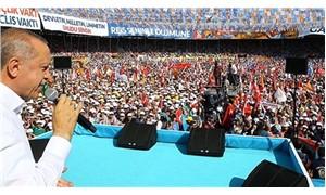 Erdoğan, Ankara mitingine 6 prompter ile çıktı
