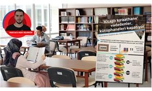 Kütüphane kapatanlar kıraathane vaat ediyor
